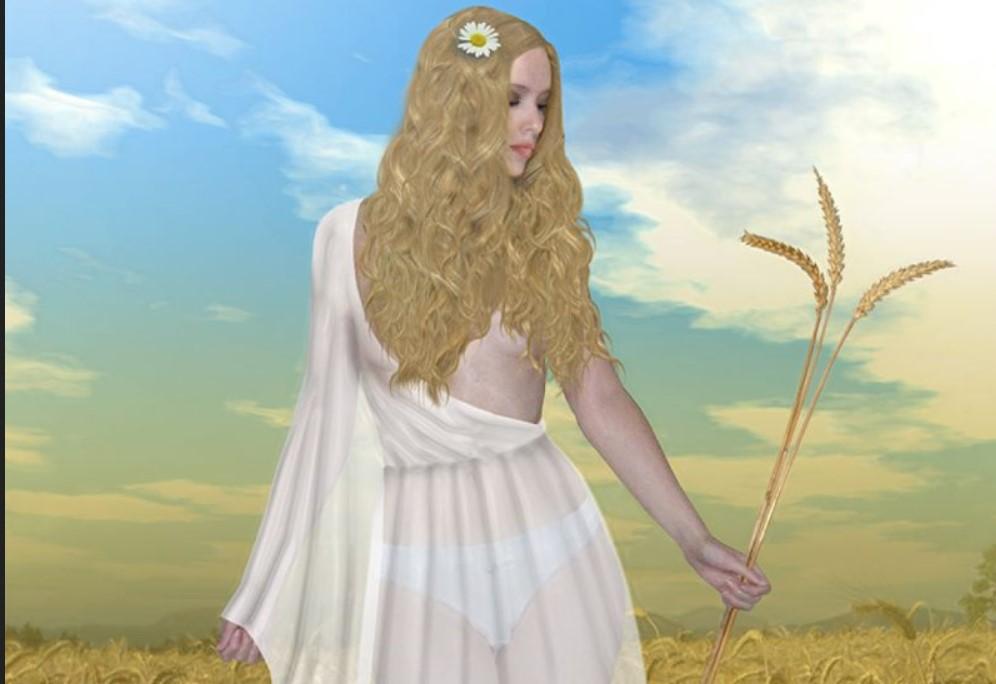 Velika boginja plodnosti – Živa: Svetovidova pratilja sa zlatnom kosom