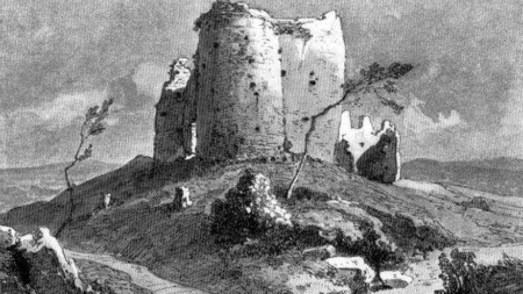 Duh Žrnova opominje: Stari slovenski grad čuva Avalu
